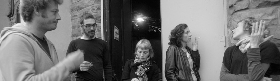 Éric Recordier, Marek Douchet, Tiphaine Monroty, Jane Joyet & Alice Laloy